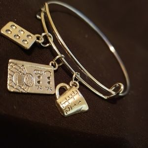 Baker / cooking slide charm bracelet